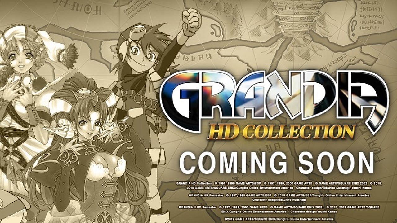 Grandia HD Collection Hands-On Preview - Touched Up JRPG Goodness