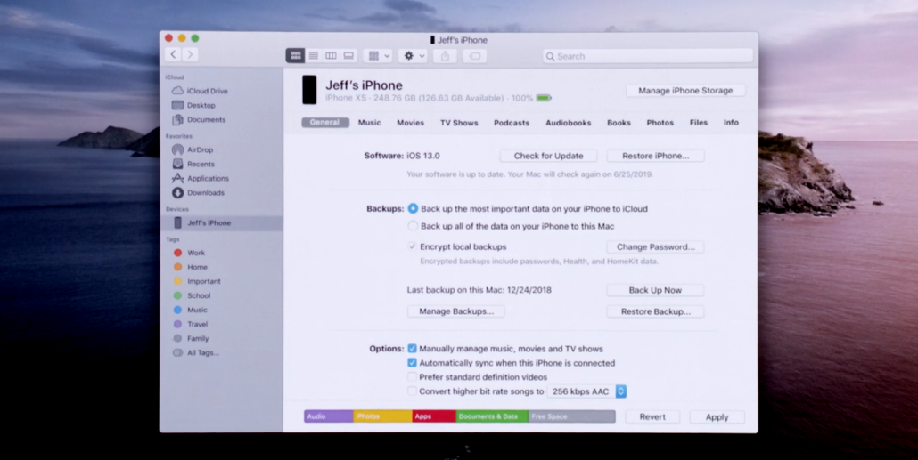 Here's How You'll Sync Your iPhone or iPad with macOS