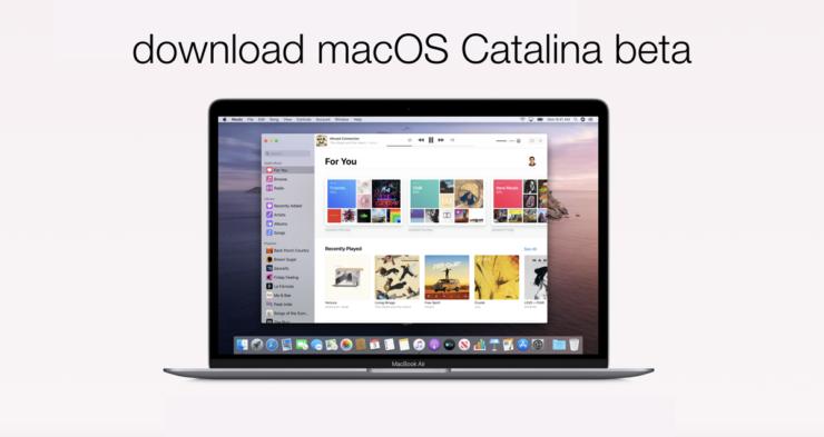 macOS 10.15 Catalina Beta USB Installer Drive