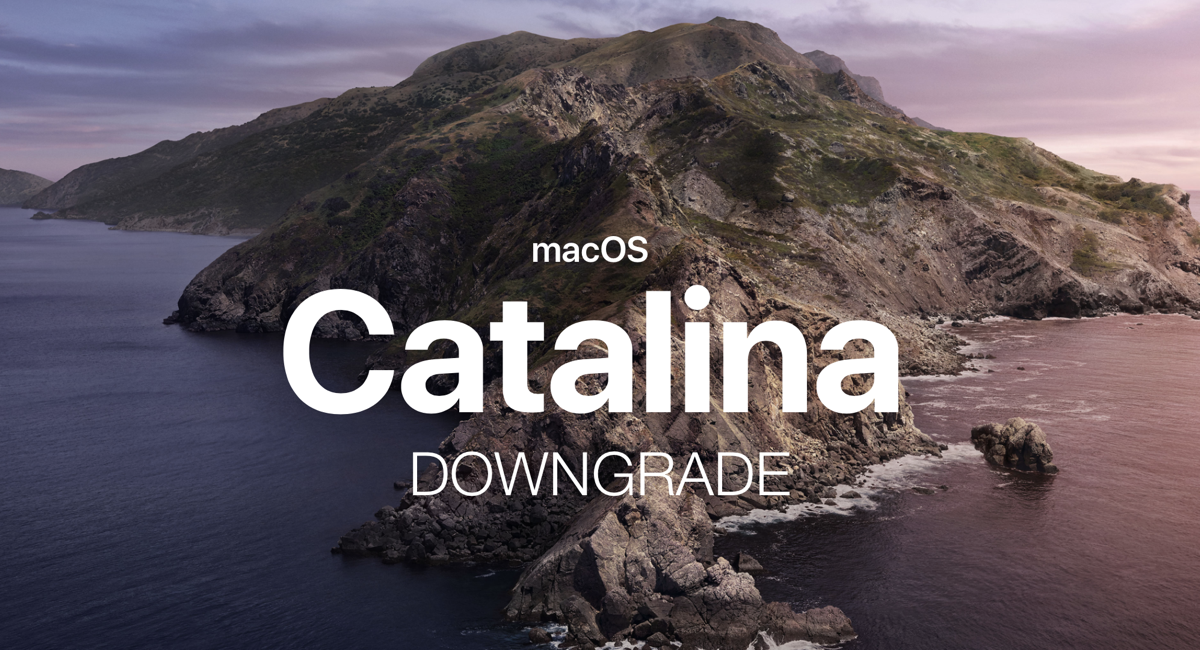 How to Downgrade macOS 10 15 Catalina to macOS Mojave [Tutorial]
