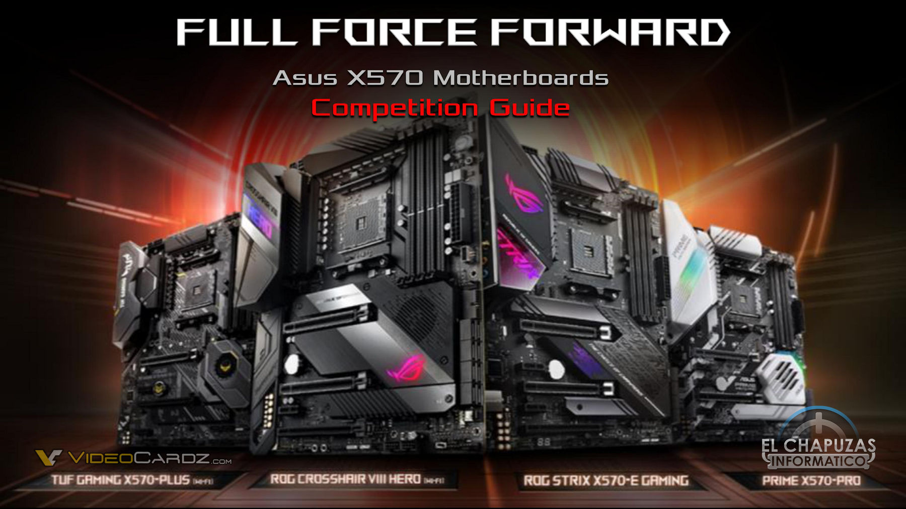 ASUS Thinks Their X570 Motherboards Are Better Than MSI & GIgabyte