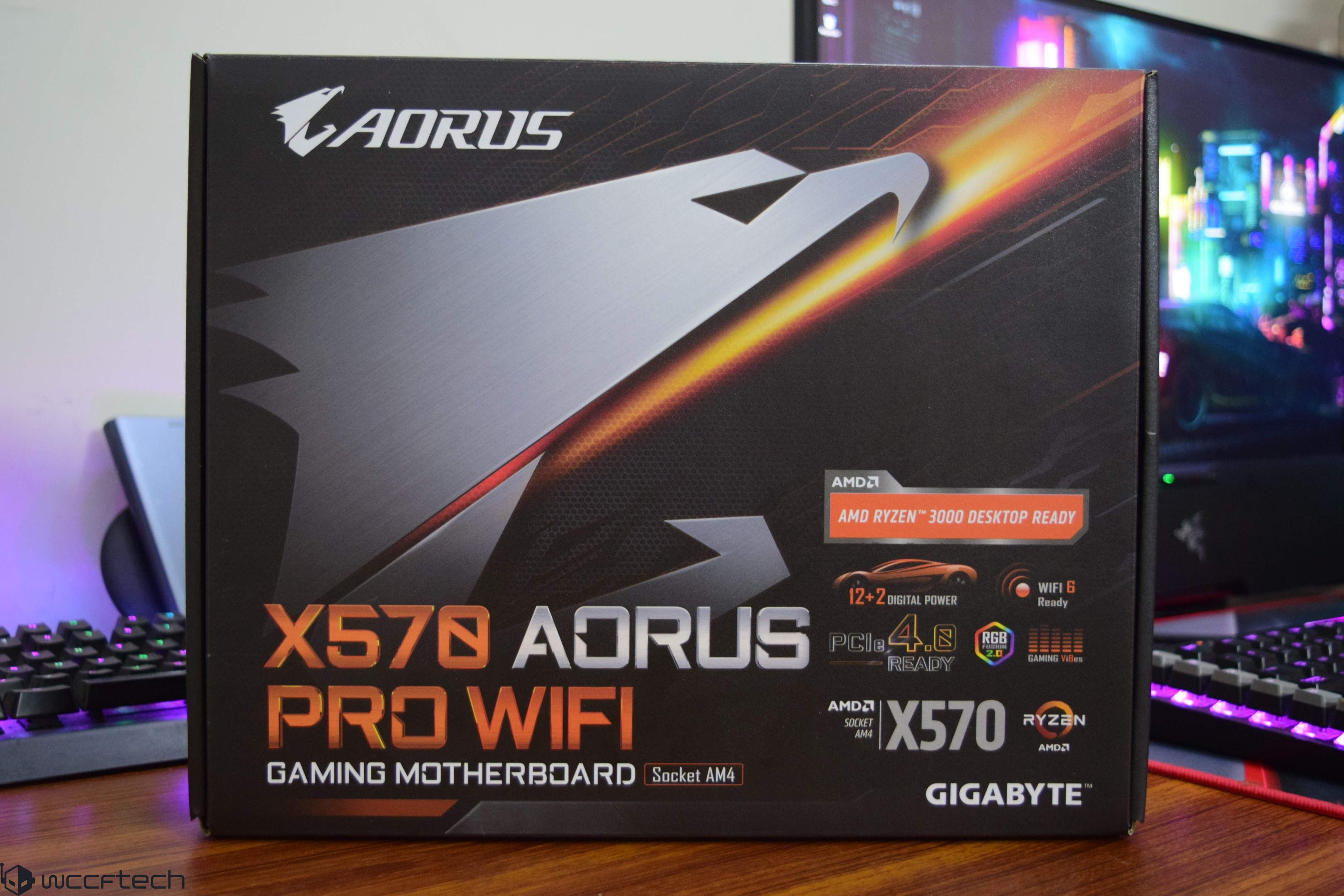 AMD Ryzen 7 3700X and Ryzen 5 3600X CPU Review Ft  X570 AORUS PRO