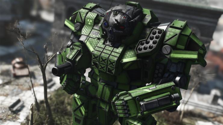 Fallout 4 Battle Mech Mod 16