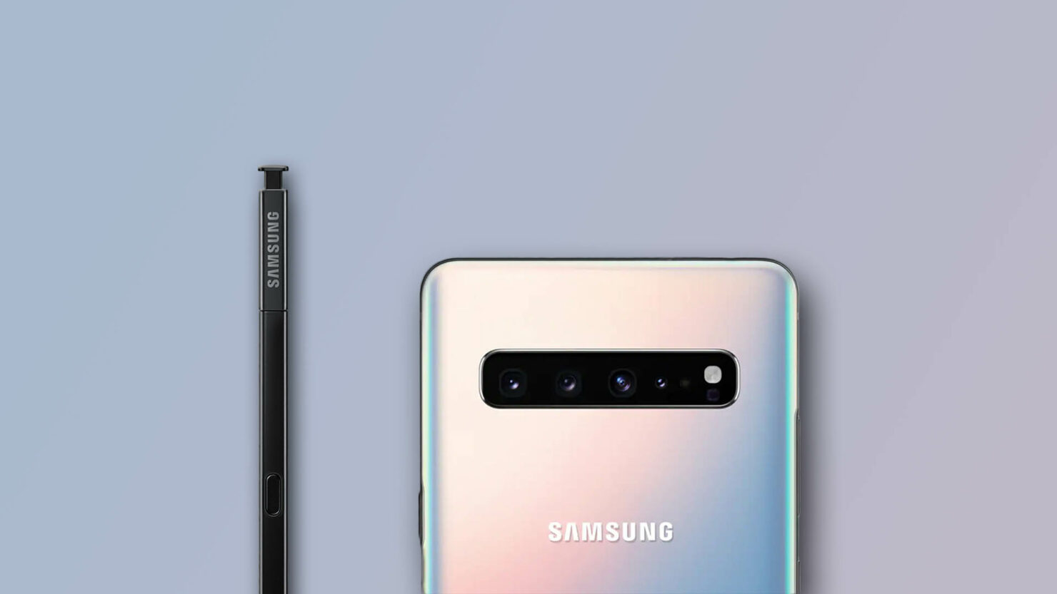 Galaxy Note 10 camera DepthVision Lens trademark filed by Samsung