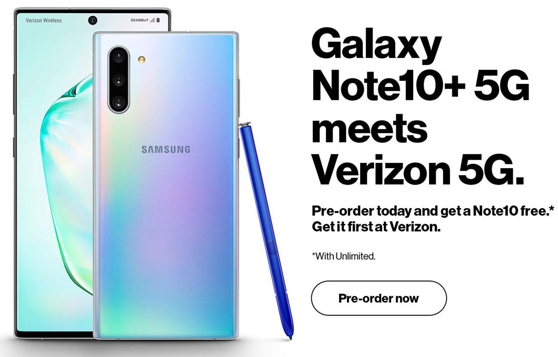 Galaxy Note 10 Plus Pre-order Promo Leak Reveals Very
