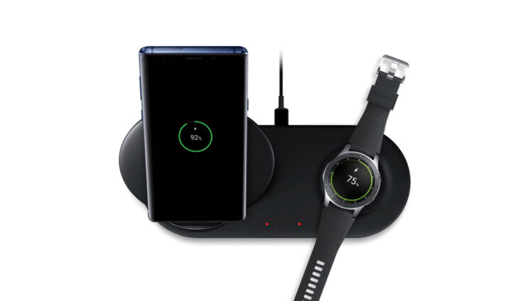 Galaxy Note 10 Plus wireless charger as fast as a regular charger