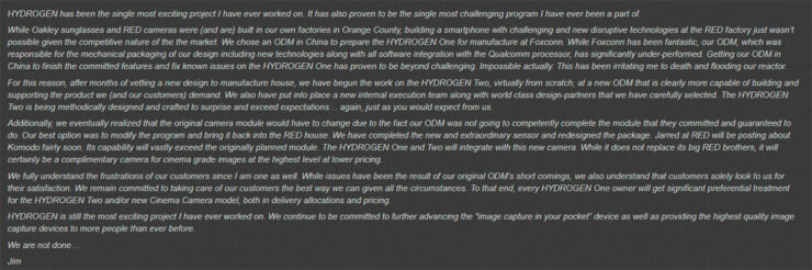 The RED HYDROGEN Two intends to improve upon the terrible HYDROGEN One