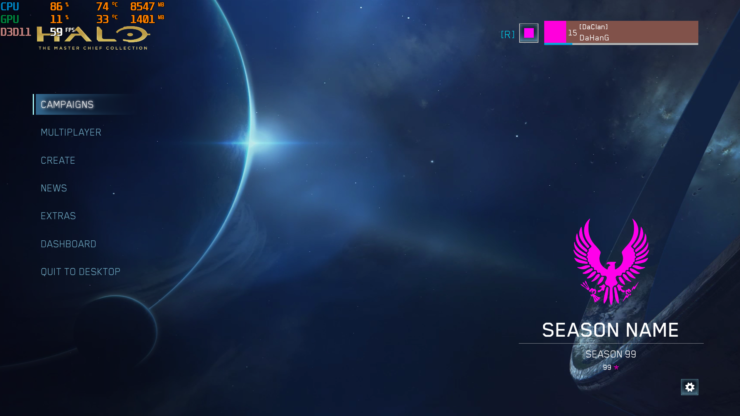 Halo MCC PC Graphical Settings Surface From Insider Build