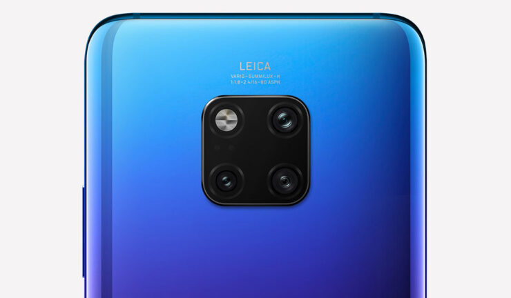 A Huawei Mate 30 Pro render has apparently leaked showing the back camera orientation