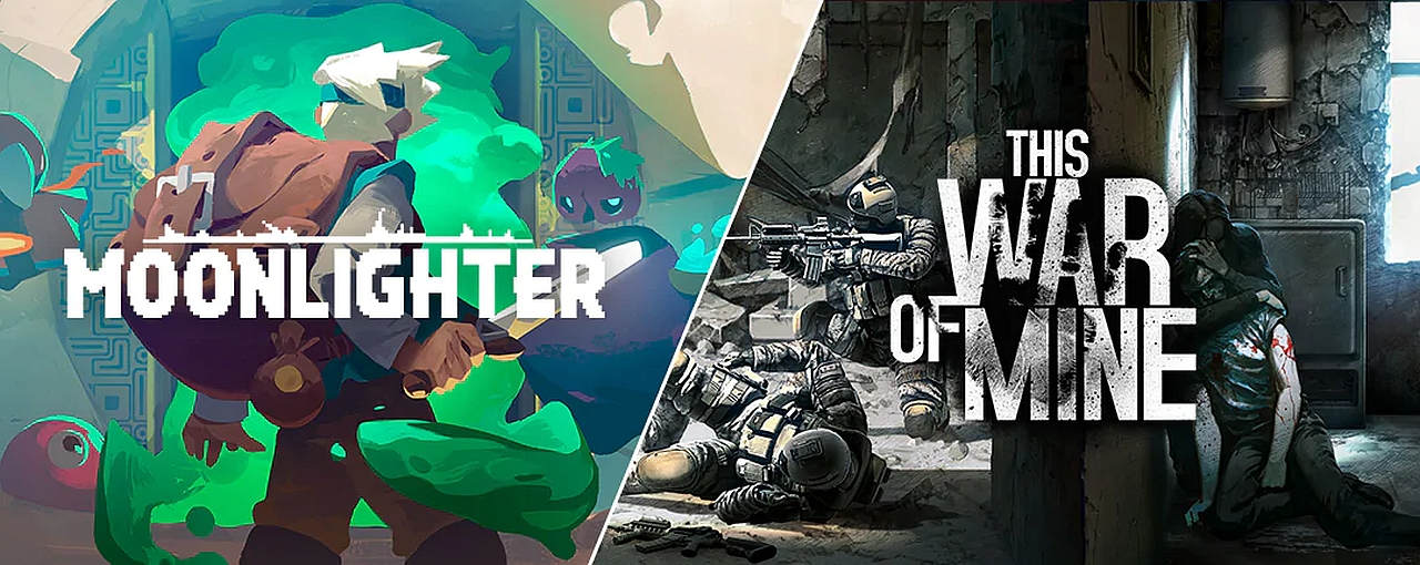 Epic Games Store Gifts Moonlighter and This War of Mine This Week