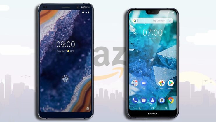 Nokia 9 PureView, Nokia 7.1, Both Unlocked Android One Devices