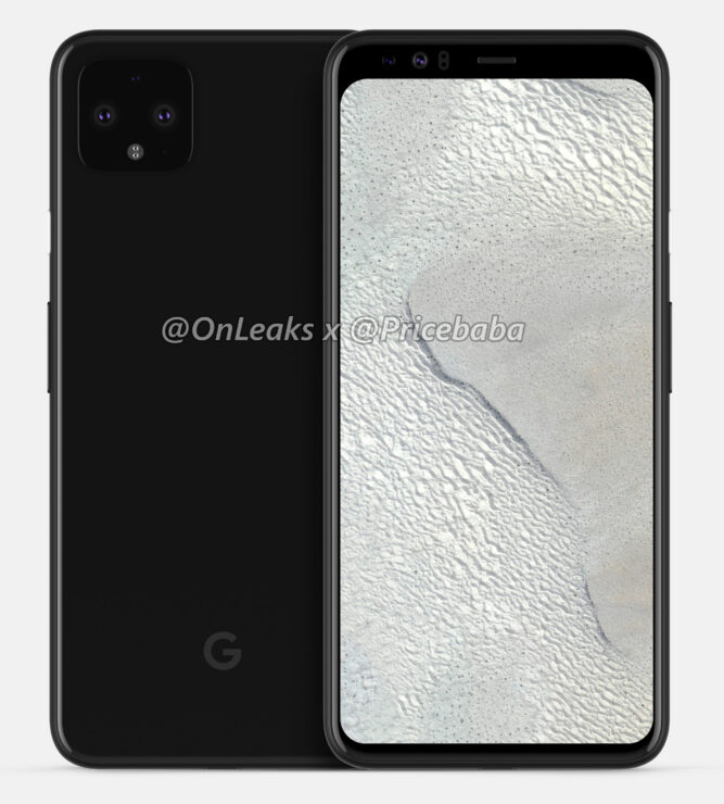 Rate the Pixel 4 XL design against the 2018 Pixel 3 XL