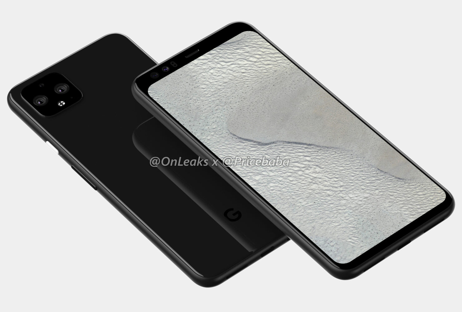 Pixel 4 XL renders show a significantly improved design