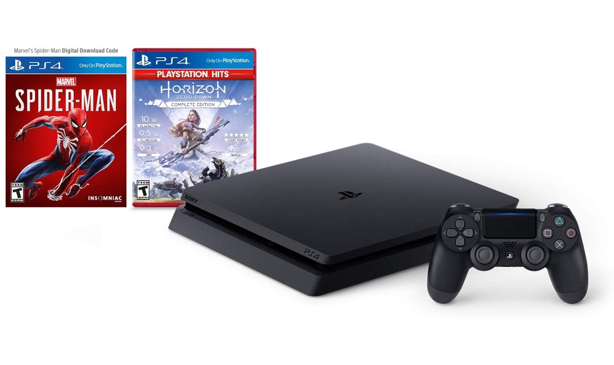 Prime Day Deal: PS4 Slim 1TB Console with FREE Spider-Man + Horizon