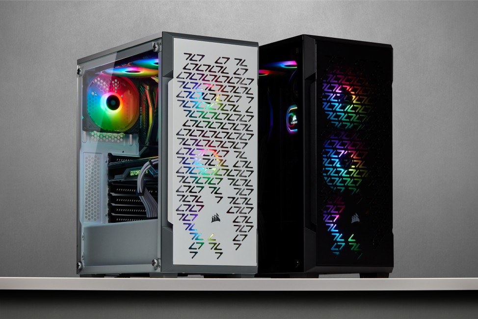 Corsair's New Cases With iCue And Improved Airflow
