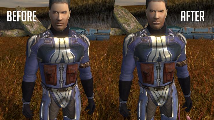 Star Wars KOTOR I & II ESRGAN AI-enhanced HD Texture Packs