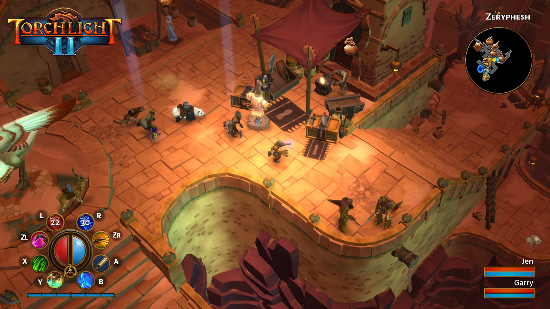 Torchlight 2 Nintendo Switch Hands-on Preview - Portable Dungeons Fun