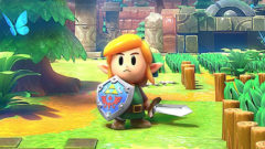 Yuzu Legend of Zelda Link's Awakening Remake