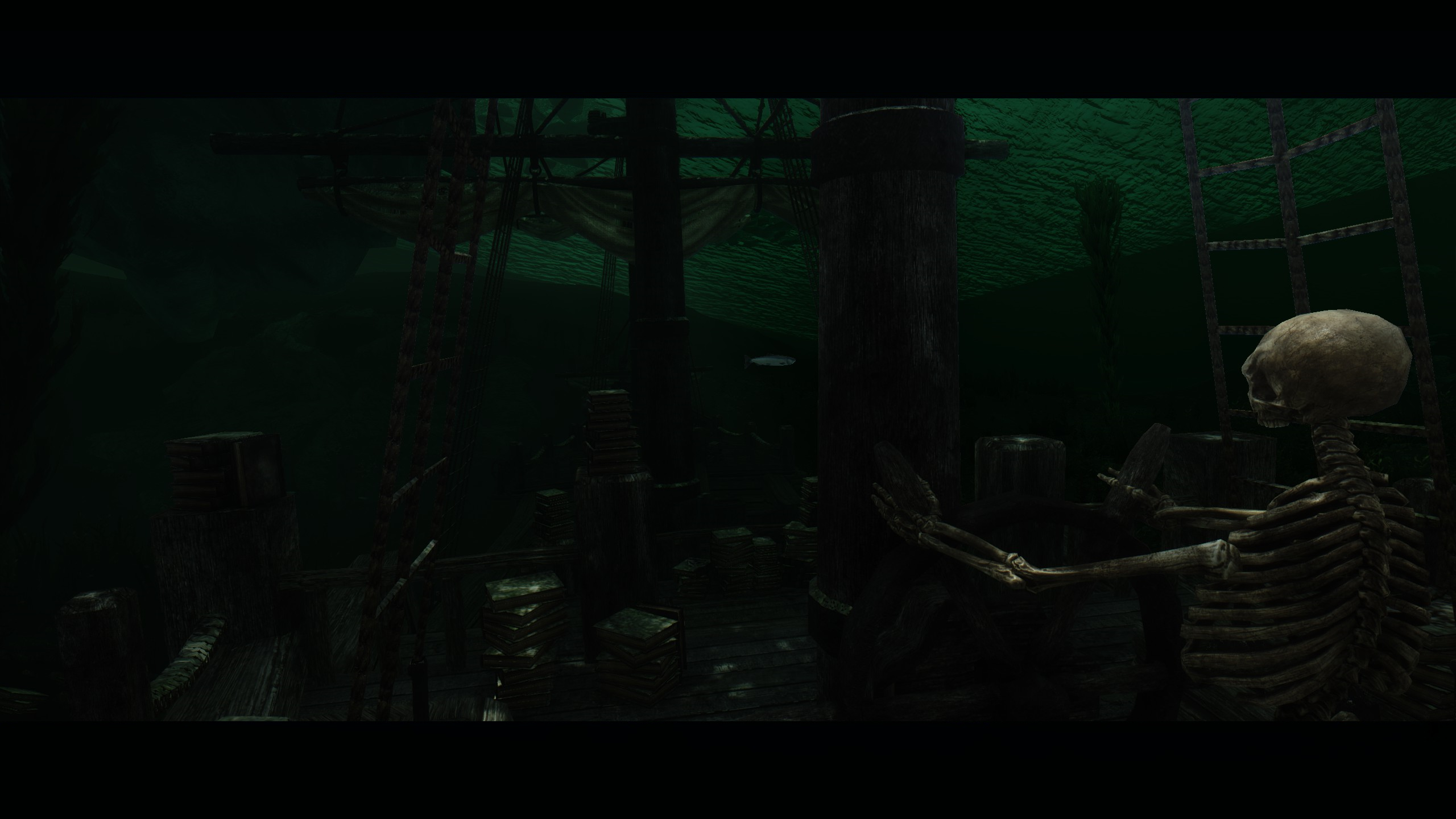 Gorgeous Depths of Skyrim Mod Overhauls the Underwater