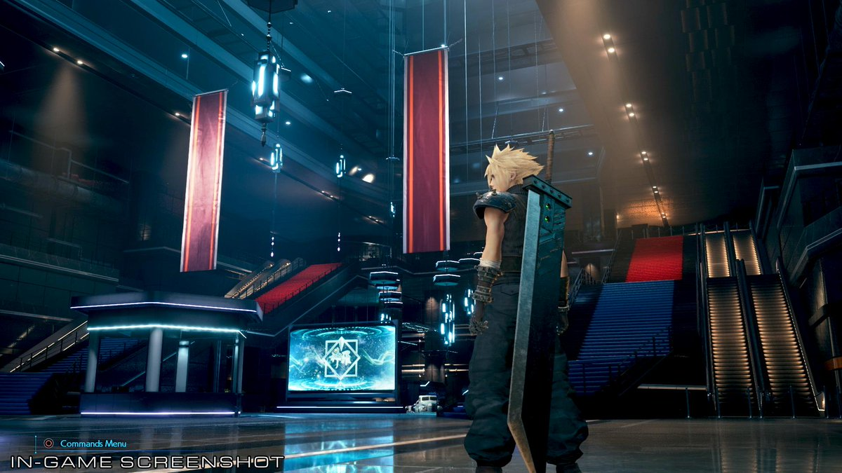 Final Fantasy VII Remake Receives New Screenshot & Concept Art