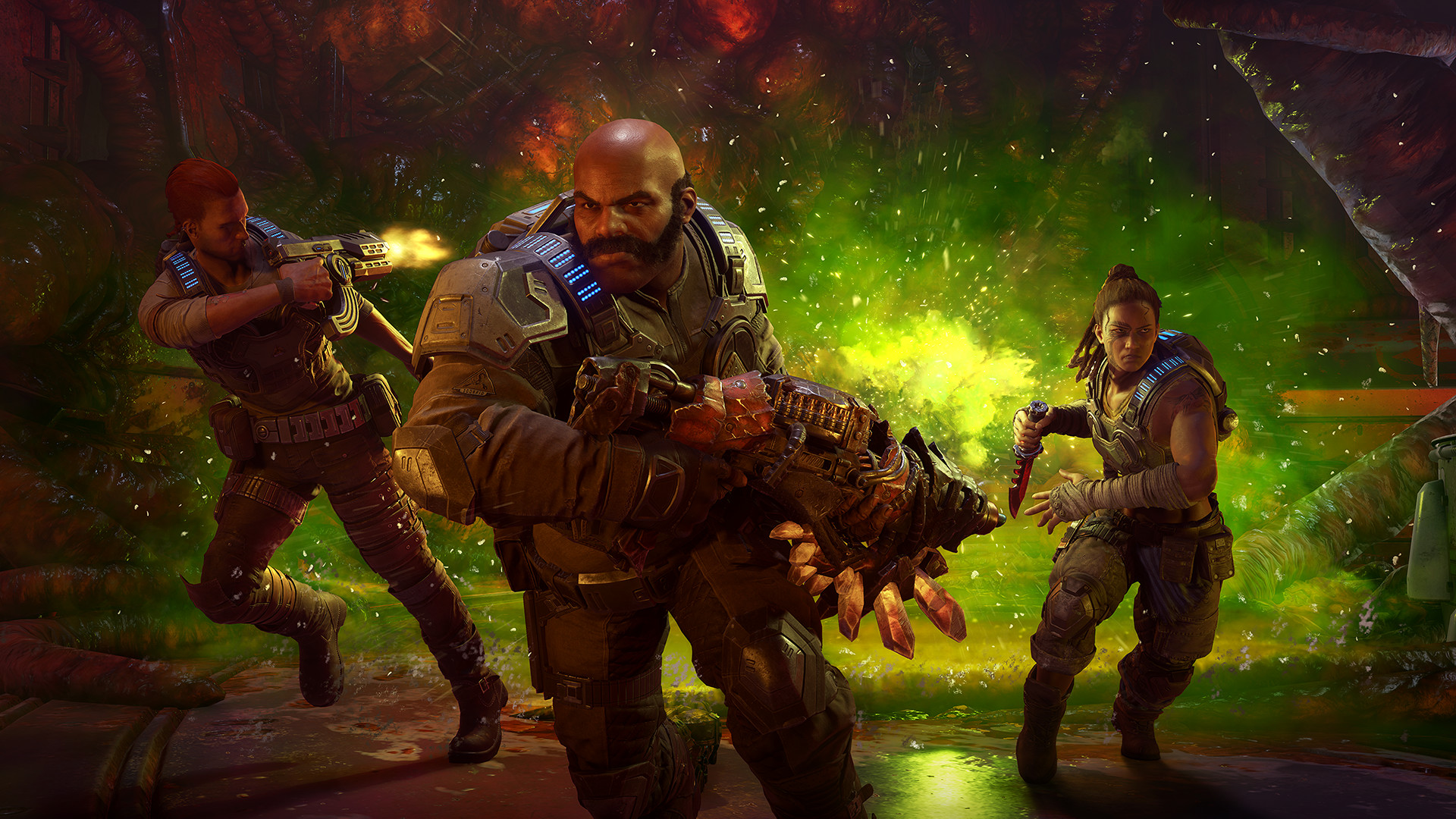 Gears 5 PC System Requirements Shared Ahead of Technical Tests