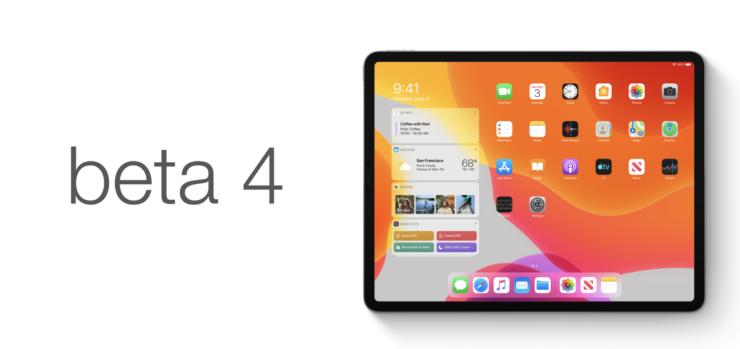 iPadOS beta 4