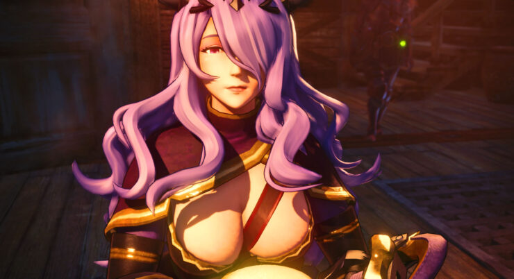 Monster Hunter World camilla mod
