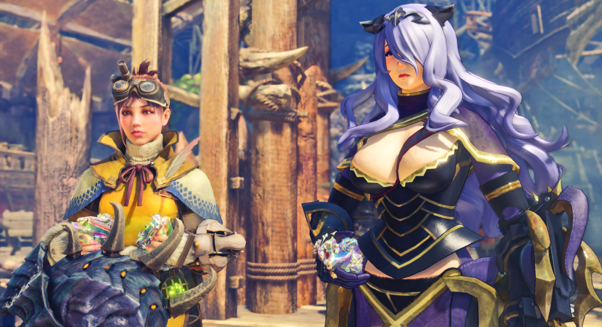 Monster Hunter World Fire Emblem Mod Allows Players To Play As