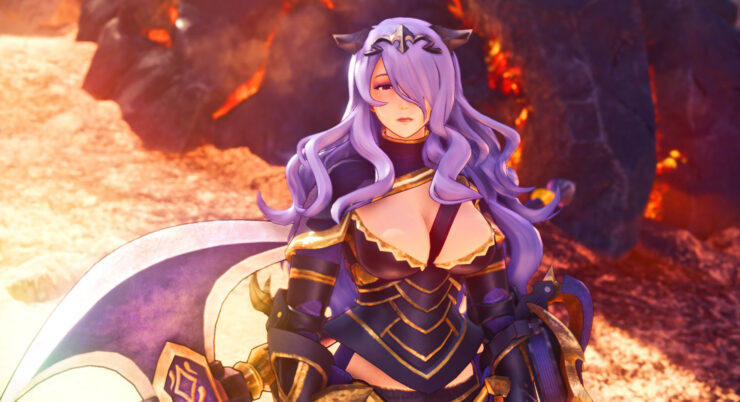 monster hunter world fire emblem mod camilla8