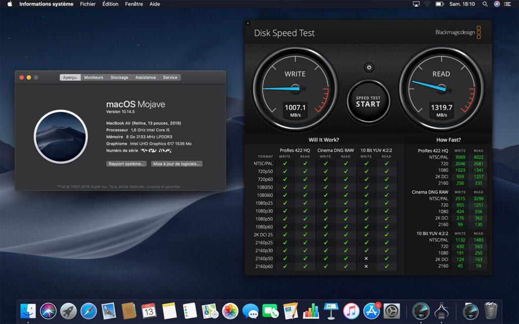2019 MacBook Air SSD