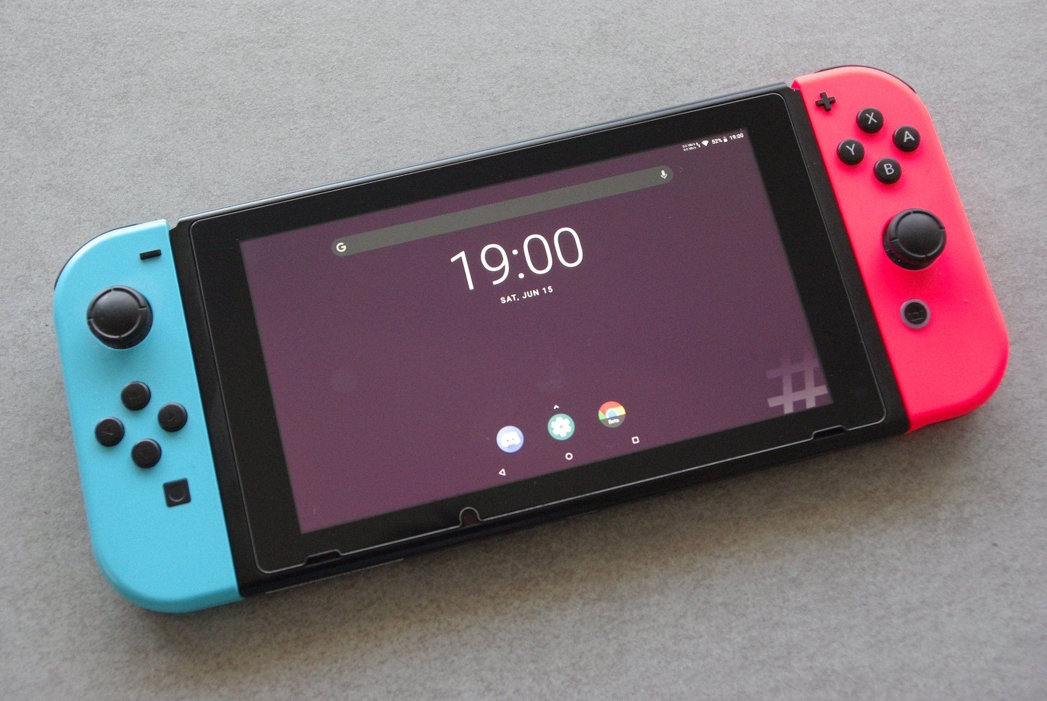 Switch Homebrew Now Runs Android Thanks to Switchroot