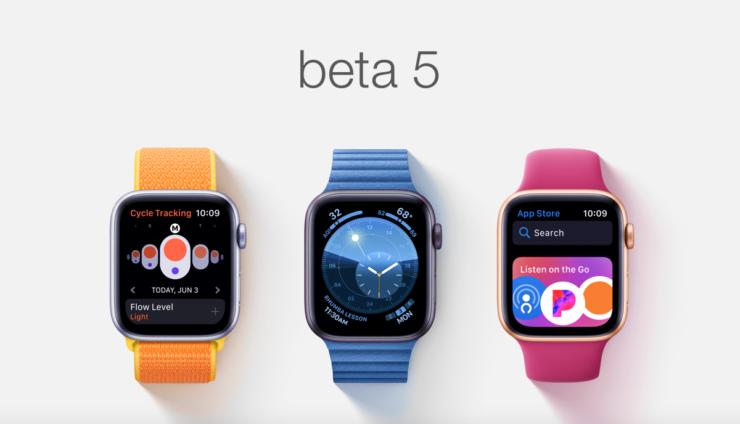 watchOS 6 beta 5