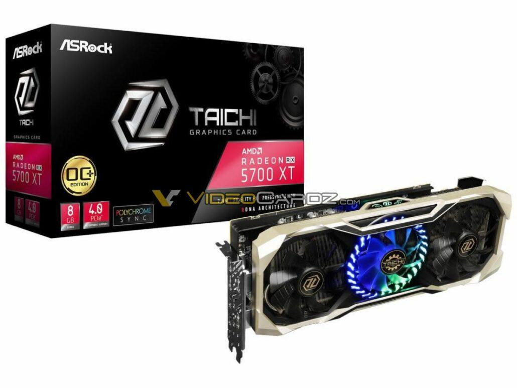 ASRock Radeon RX 5700 XT Taichi OC Graphics Card