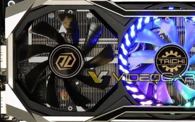 ASRock Radeon RX 5700 XT Taichi OC Custom Graphics Card Pictured
