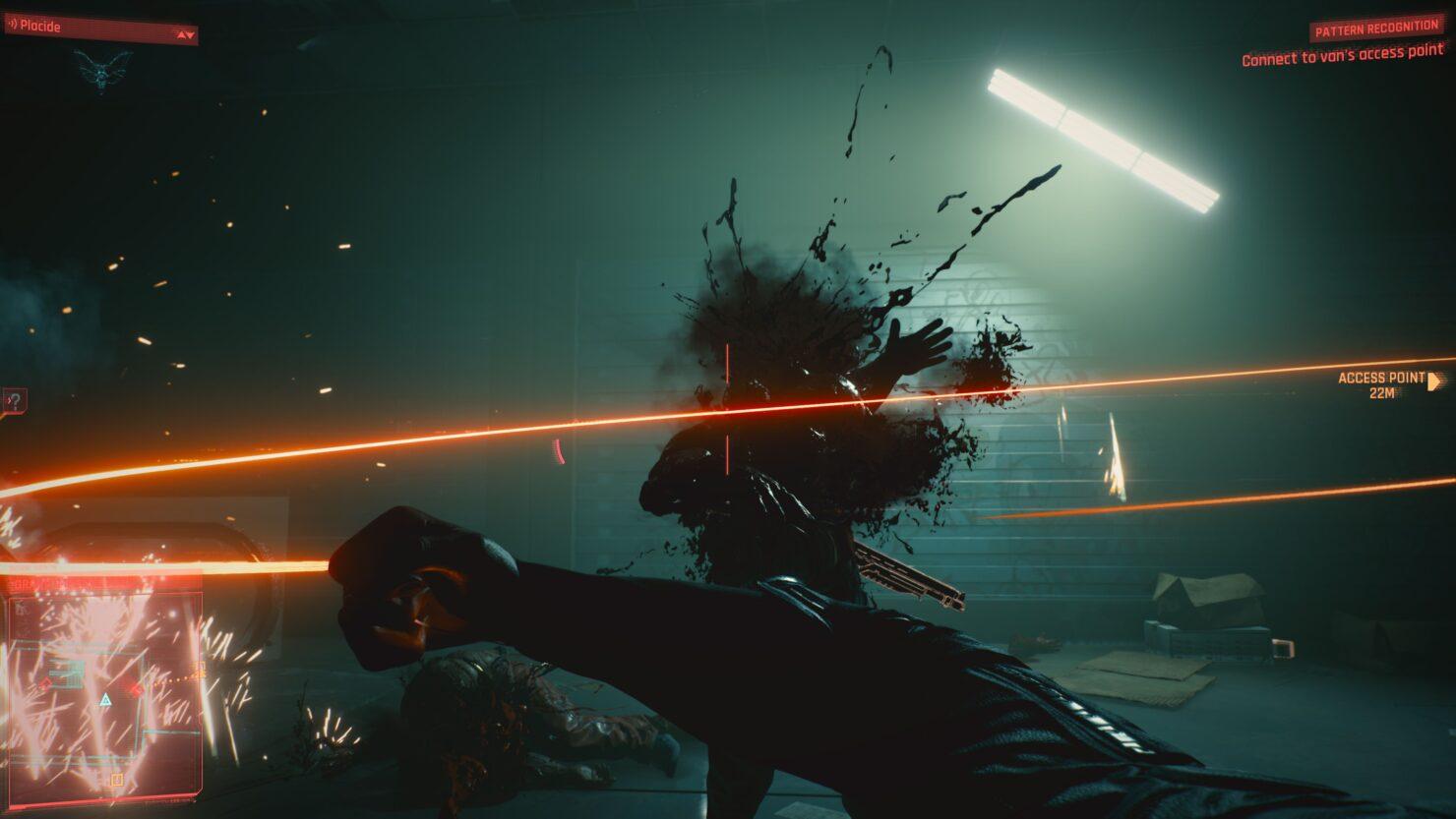 Cyberpunk 2077 cutscenes first person