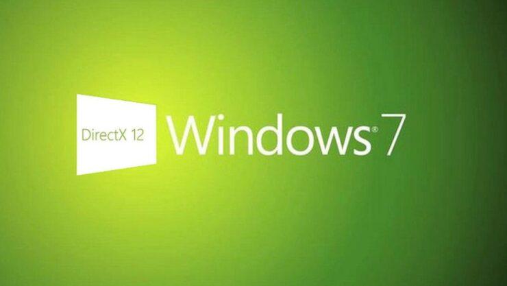 Windows 7 DirectX 12