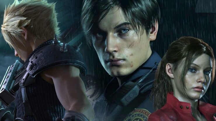 Final Fantasy VII Remake RE2 Remake mod