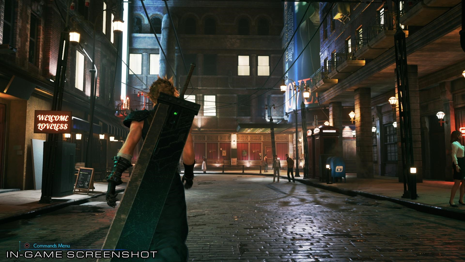 Final Fantasy Vii Remake Classic Combat Detailed New