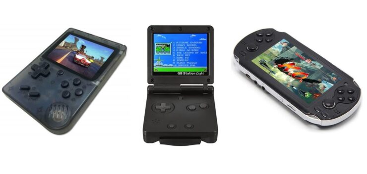 Handheld Game Consoles on discount
