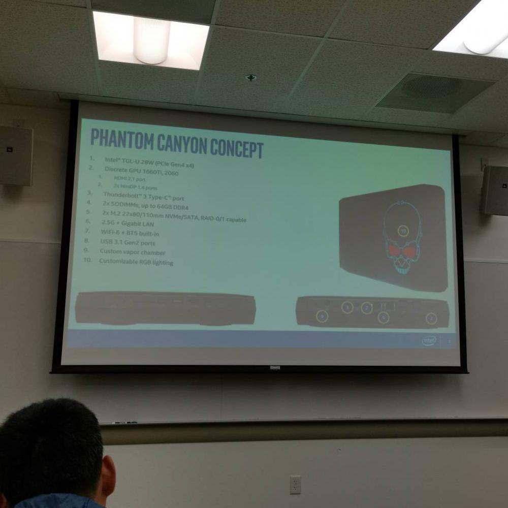 Intel Phantom Canyon NUC With Tiger Lake 10nm+ Processors