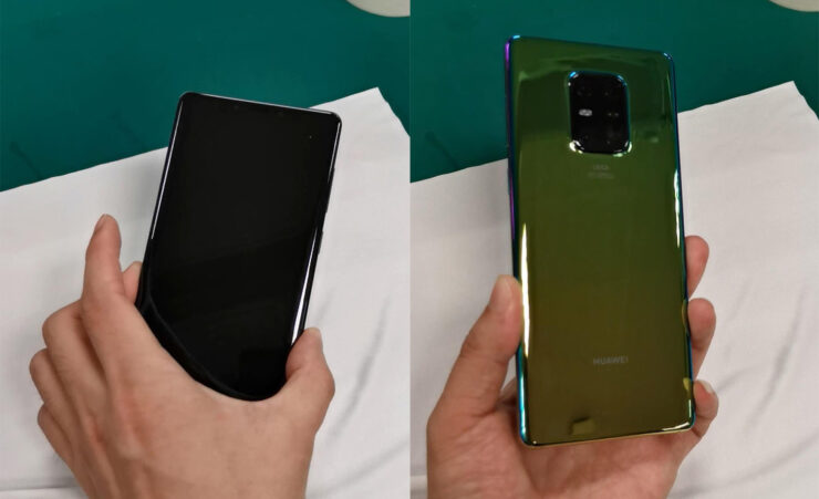 Mate 30 Pro camera hands-on leak shows a rear hump with four sensors