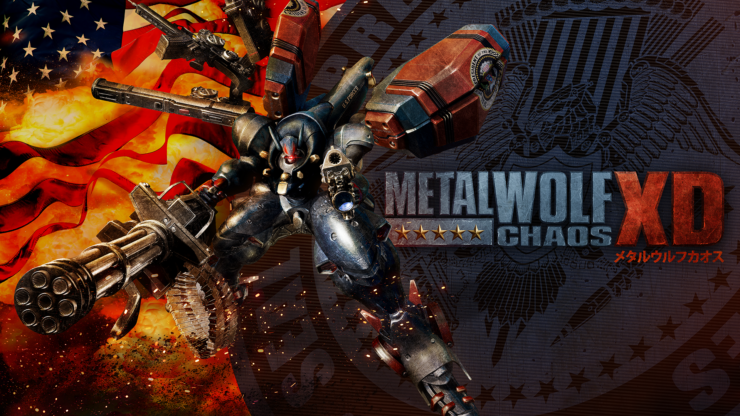 Metal Wolf Chaos XD Key Art