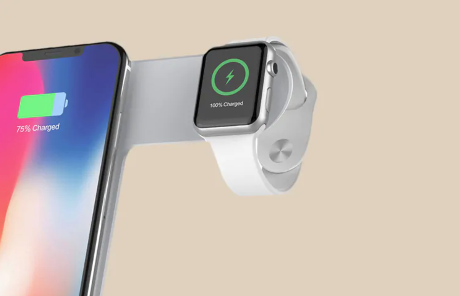 Multifunctional fast wireless charger stand