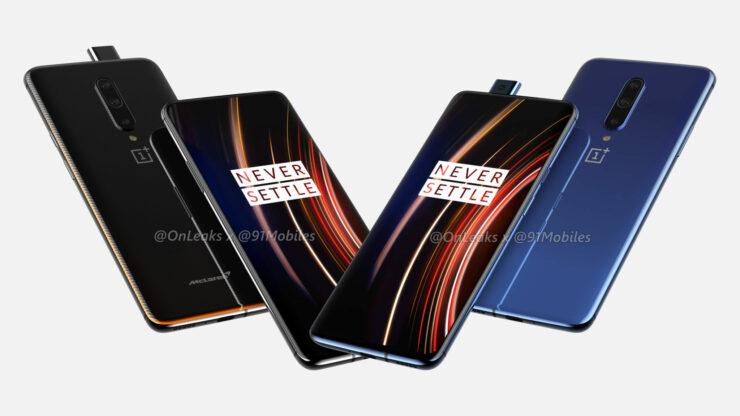 OnePlus 7T Pro, McLaren Renders