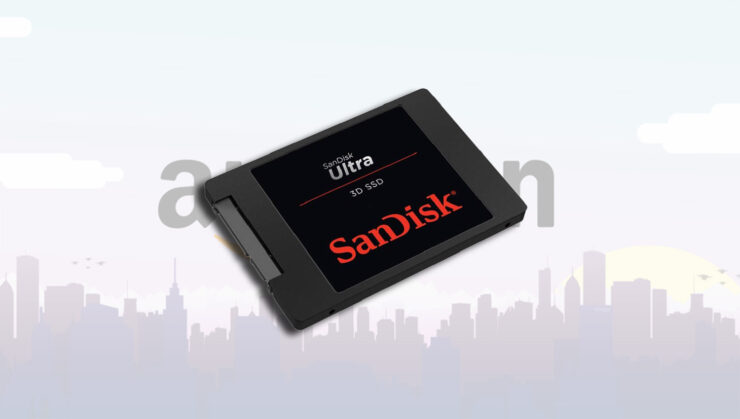 SanDisk ultra-high capacity SSDs are discounted