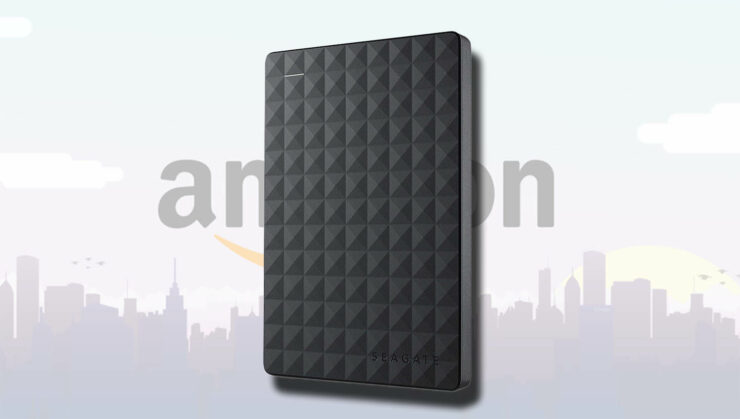 Seagate external hard drives are much cheaper at Amazon