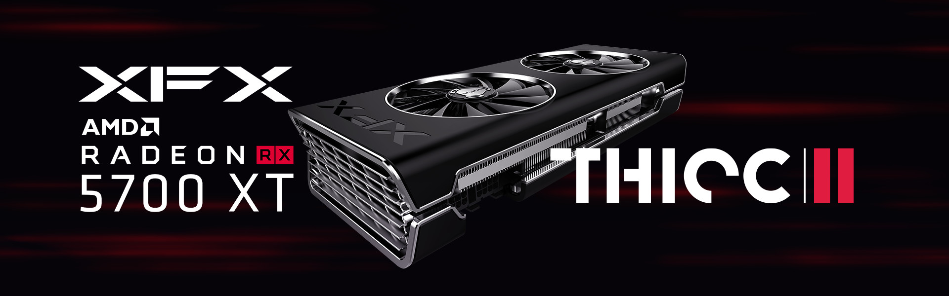 Xfx Intros Their Top Of The Line Radeon Rx 5700 Xt Thicc Ii Card