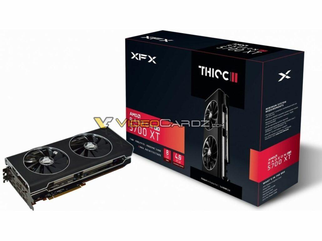 XFX Radeon RX 5700 THICC2 Custom Graphics Cards