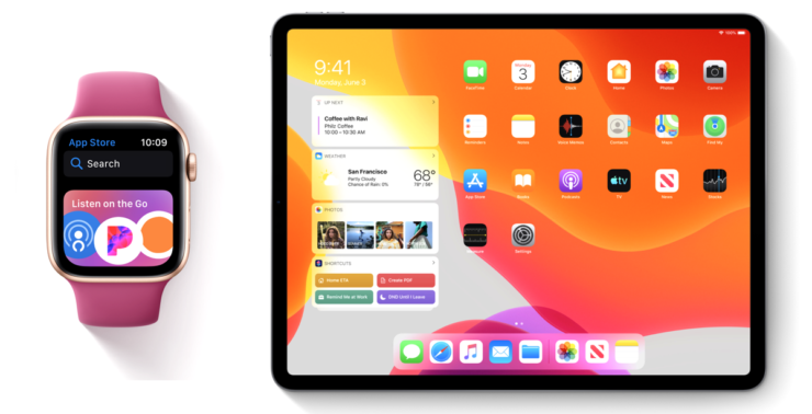 Apple Watch iPad Pro