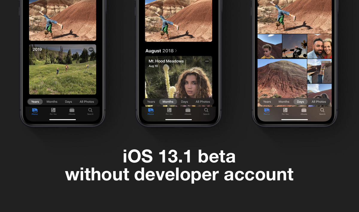 download iOS 13.1 beta